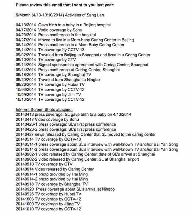 20141112 email KS to Mo- Summary